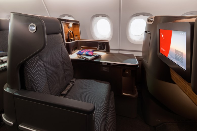 Qantas reveals refitted A380 cabins, now flying through Singapore