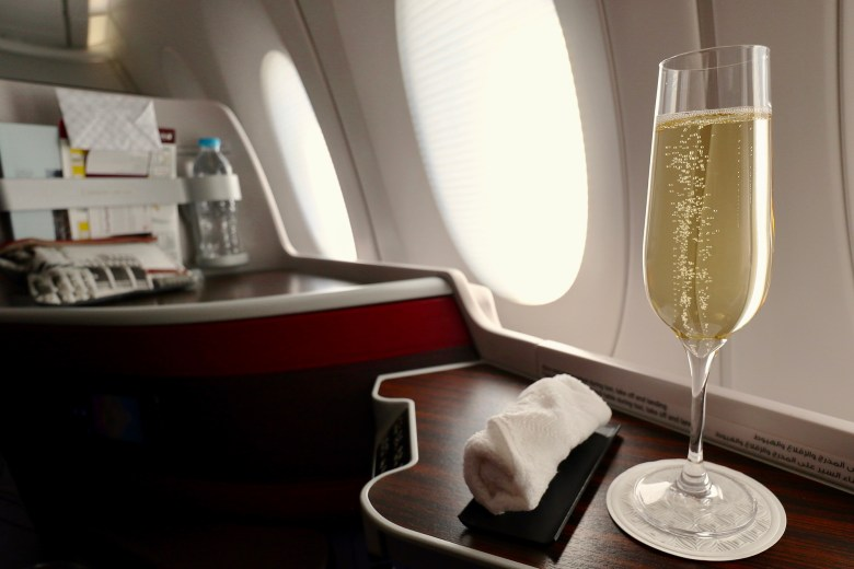 Welcome Champagne