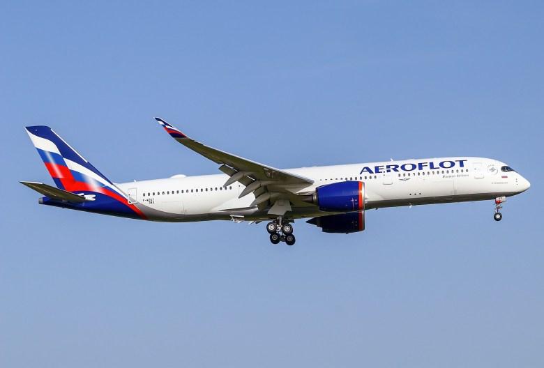 Aeroflot A350 (Eurospot)