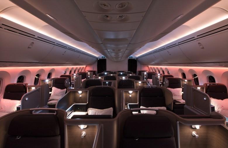 Qantas 787 New Business s (Qantas Airways)