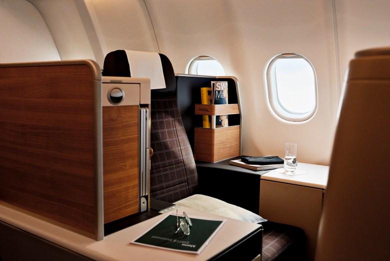 A340 Business Class (Swiss)