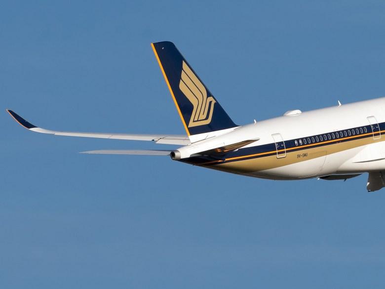 A350 Tail Departing (Jonathan Palombo)