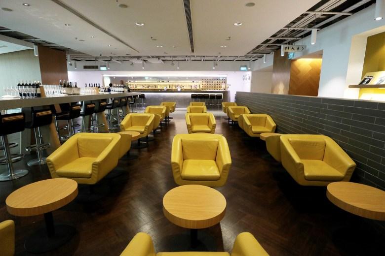 Chairs Yellow Bar