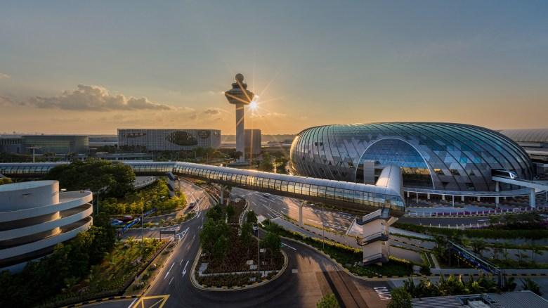 Changi Jewel Sunset (CAG)