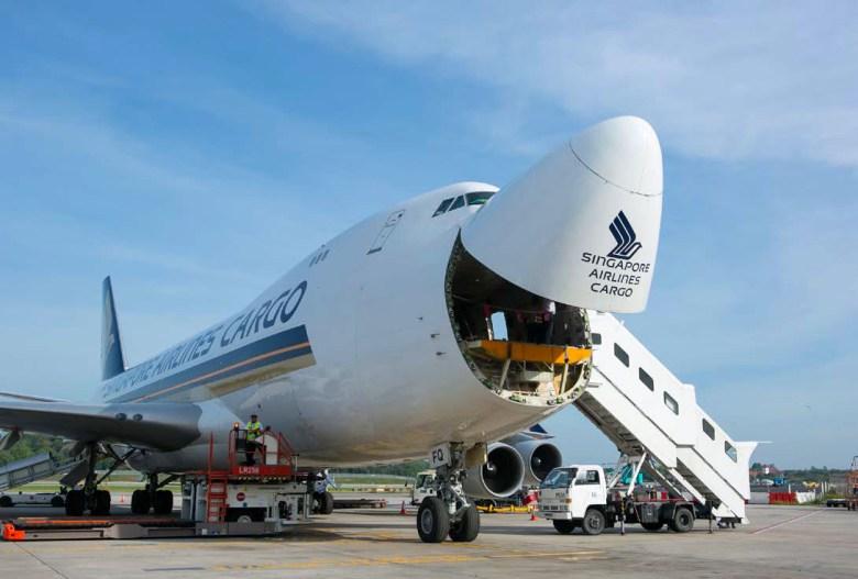 SQ Cargo 747 Nose (Singapore Airlines)