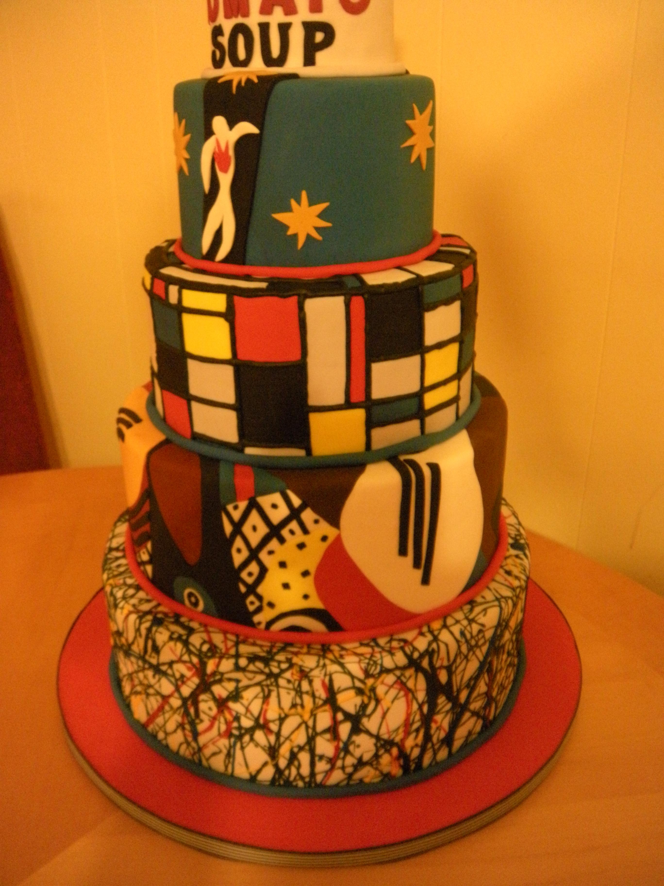 Picasso Cake Main Made Custom Cakes