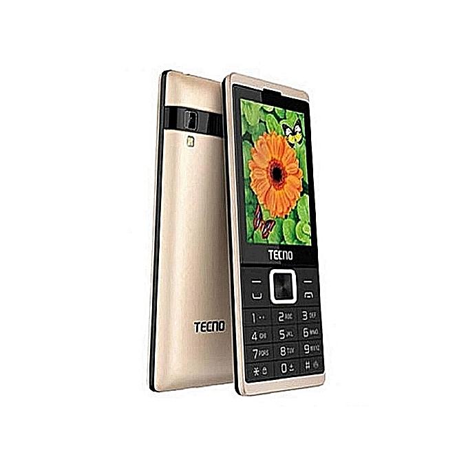 Tecno T528 - 2 8 Inch, Dual Sim, FM Radio, Opera Mini, Camera,Battery  2500mAh - Champaign Gold – MainMarket Online