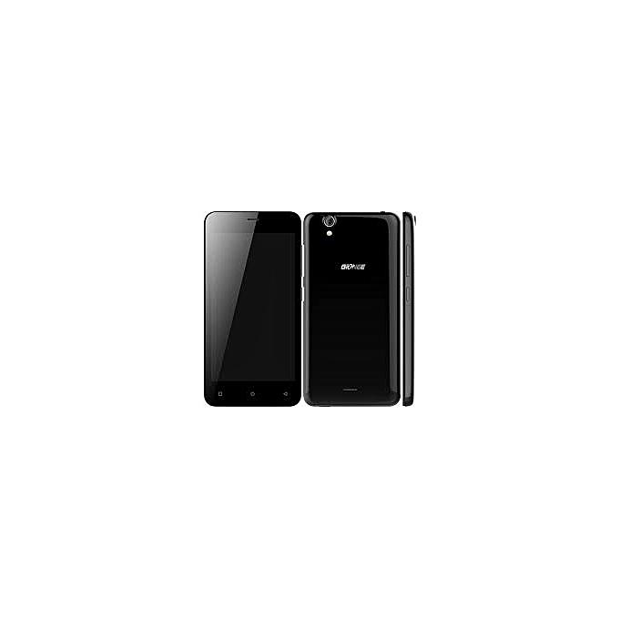 Gionee P5 Mini 4 5-Inch WVGA (1GB, 8GB ROM) Android 5 1 Lollipop, 5MP + 2MP  Dual SIM 3G Smartphone - Black – MainMarket Online
