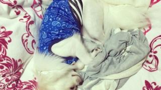 リオンの可愛い寝姿にキュンキュン❤️❤️❤️お手伝いリオンもキュンキュン❤️❤️❤️