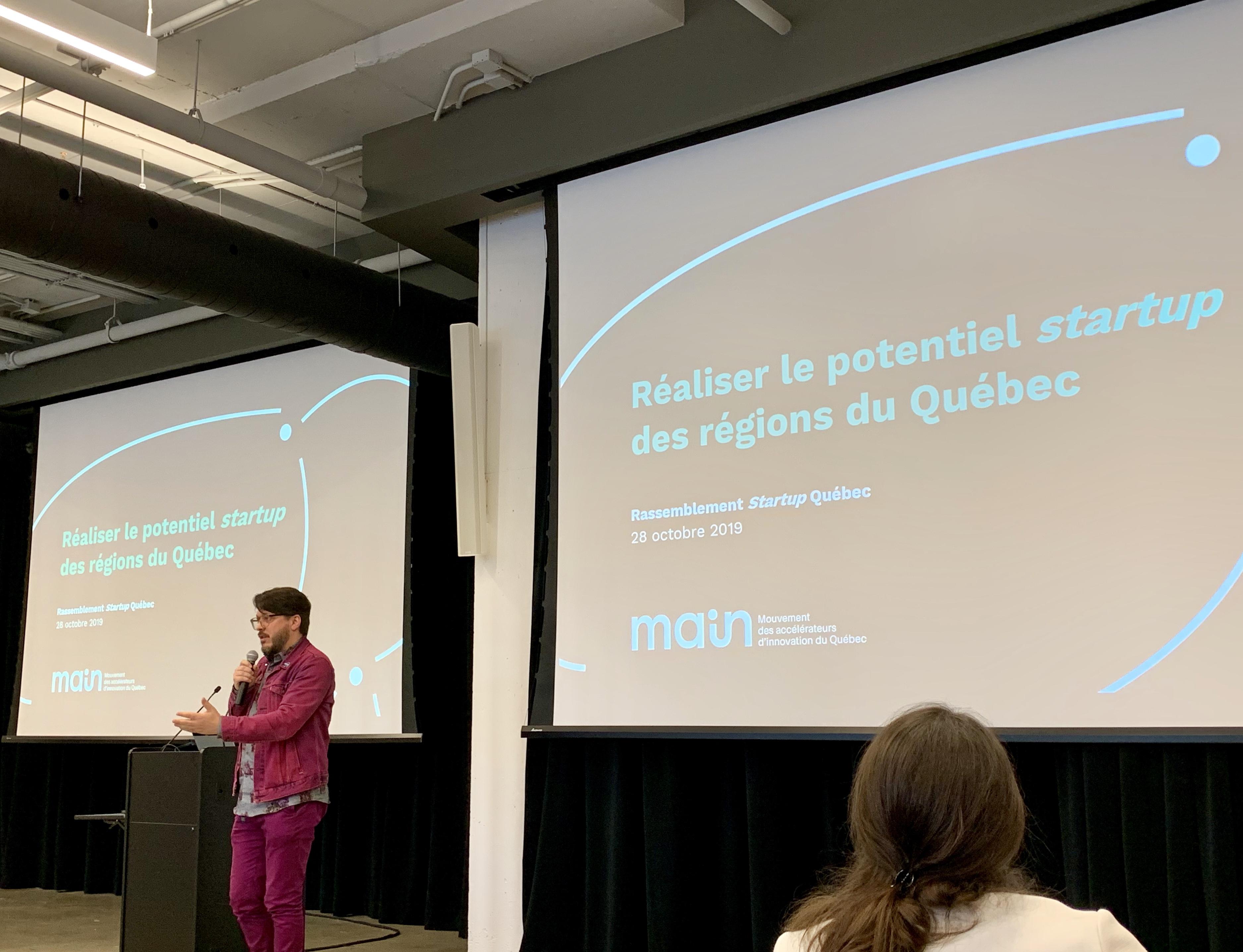 Le Mouvement des accélérateurs d'innovation du Québec crée un Circuit pour accélérer la mise en réseau des ressources de l'écosystème startup du Québec