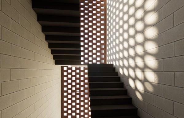 Cabarita House Rendering Stairs