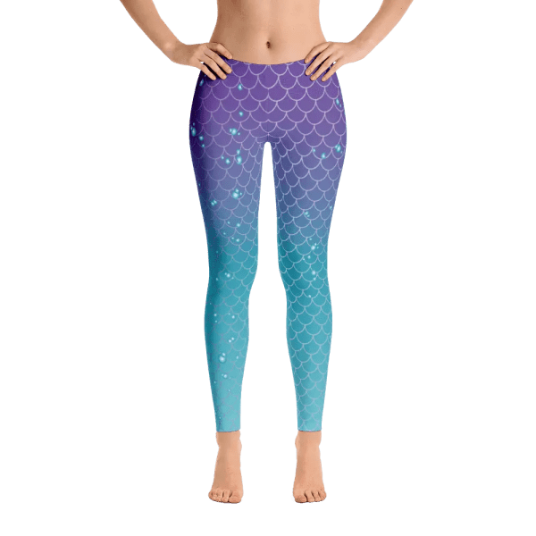 Mermaids and Bubbles | Leggings | Made in the USA