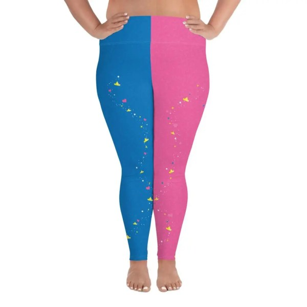 Make It Pink , Make It Blue | Curvy Leggings  | Made in the USA