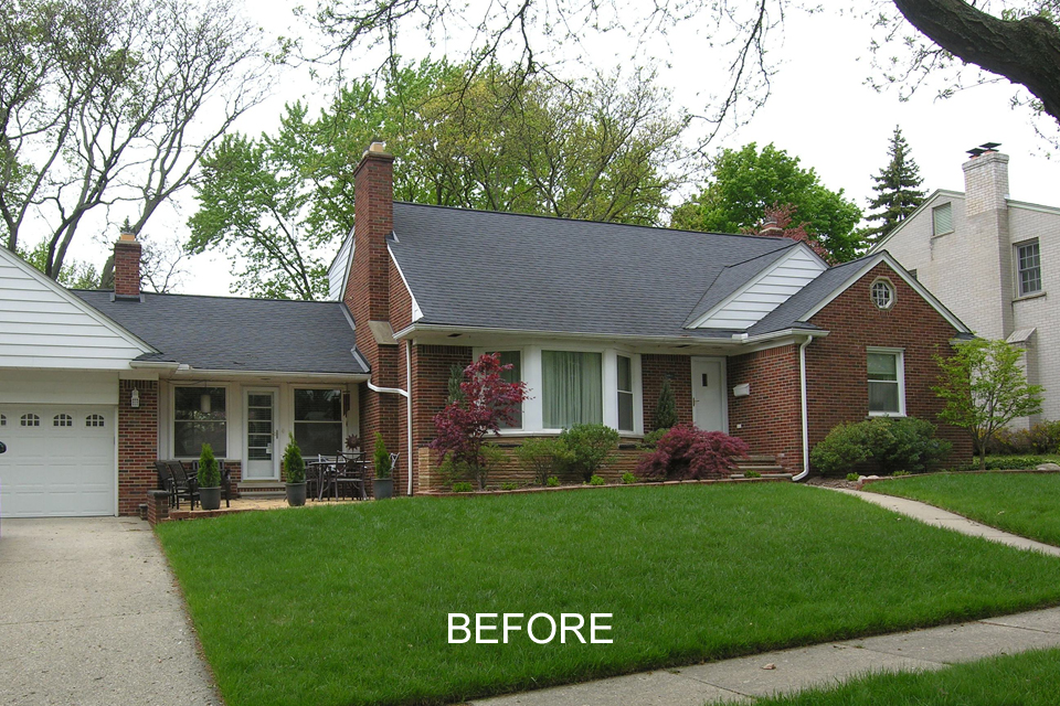 Two Royal Oak Bungalows Receive Royal Makeovers