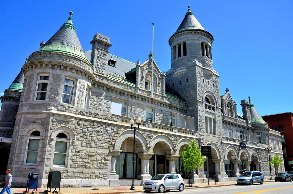 Olde Federal Building Augusta Maine