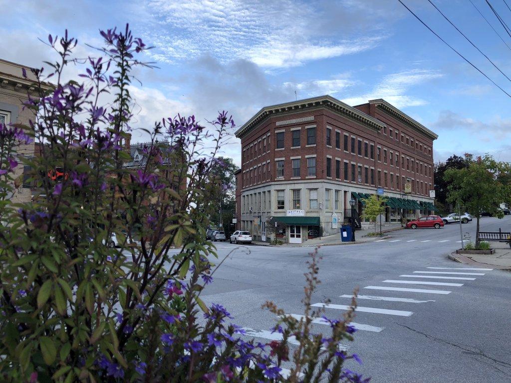 Hayford Block in Belfast, Maine