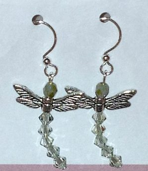 Dragonfly earrings are a fantastic gift for a gardener or one with whimsical tastes!