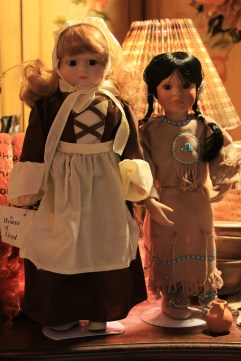 Collectable porcelain dolls.
