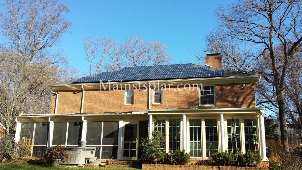 solar Victorian home Virginia