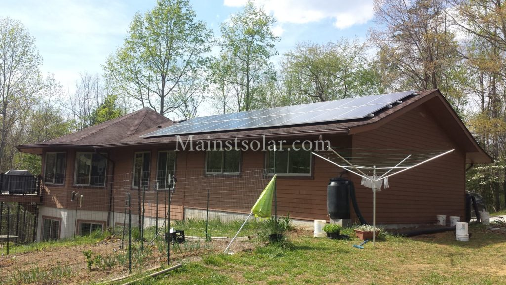 solar homesteader Virginia