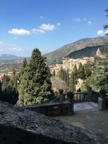 The view from Villa d'Este.