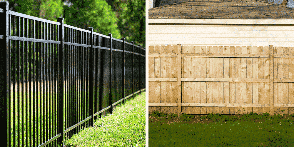 aluminum vs wood fence which is better