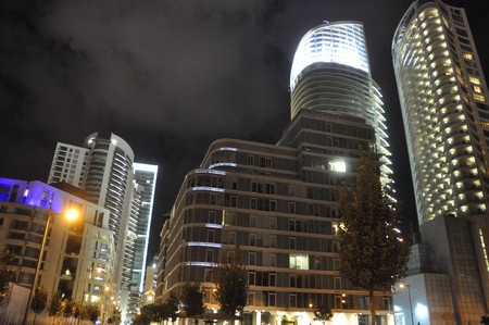 "Moderne architectuur in ""downtown Beirut"""