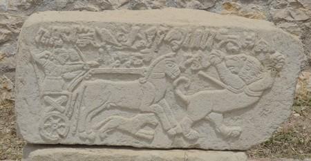 Arslantepe, replica van een orthostaat