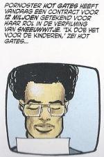 """Een van de weinige grapjes in The Dark Knight Returns: """"Hot Gates"""" is de vertaling van het Griekse """"Thermopylai"""". Miller schreef het stripverhaal """"300"""" over de veldslag."""