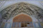 De ingang van de Khan-madrassa
