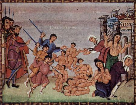 Kindermoord te Betlehem (Codex Egberti)
