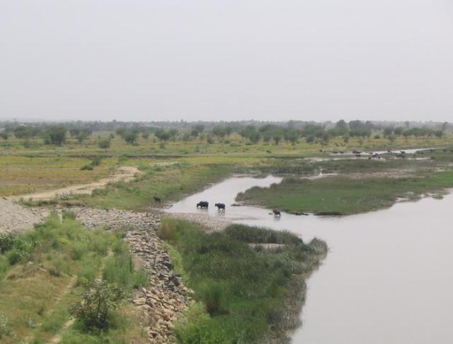 Het slagveld aan de Jhelum