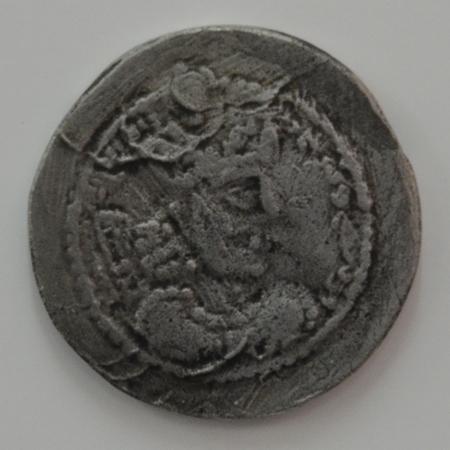 Munt van de Sassanidische koning Bahram V