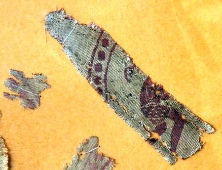 Zijde uit Zenobia (Archeologisch museum van Deir ez-Zor)
