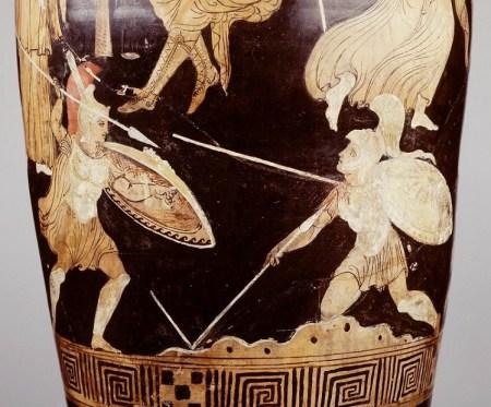Achilles en Memnon