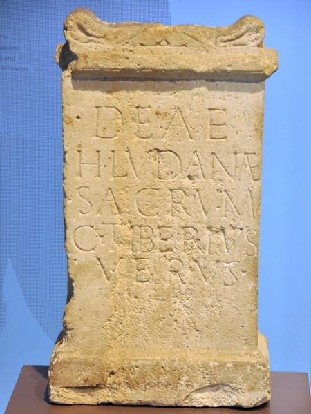 Wijding aan Hludana (Museum van Xanten)