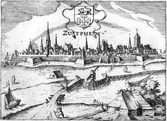Johannes Janssonius, Zutphen