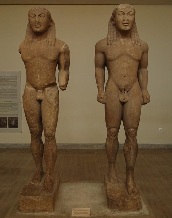 Kleobis en Biton (Delfi)