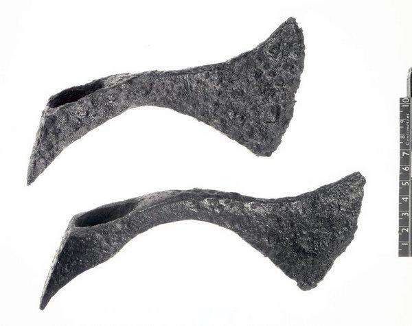 Twee Frankische werpbijlen (© Trustees of the British Museum)