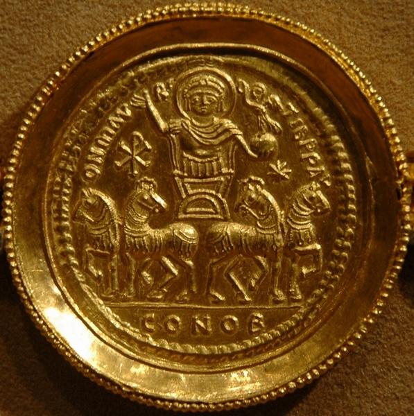 De triomf van keizer Mauricius (Metropolitan Museum of Art, New York)