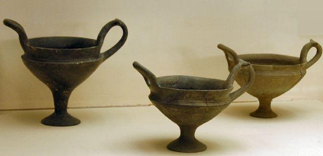 Aardewerk uit Troje VI (Archeologisch Museum van Istanbul)
