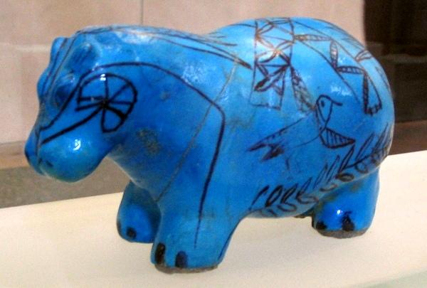 Nijlpaard (Louvre, Parijs)