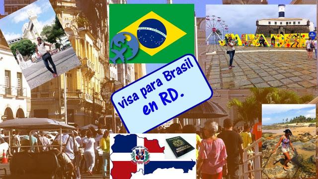 Visa para Brasil en República Dominicana.