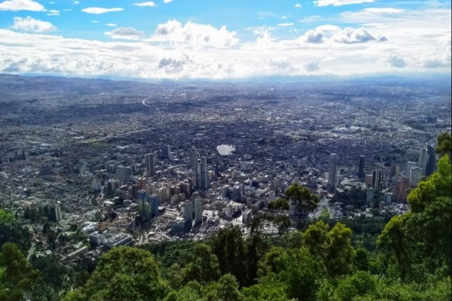 viaje a Bogotá