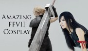Cosplay Cloud y Tifa Final Fantasy VII. Fte: ytimg.com