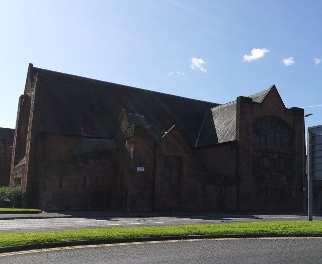 St Matthews Church of the Nazarene, Paisley, exterior view.
