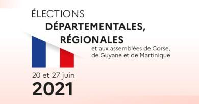 Résultats du second tour des élections régionales et départementales