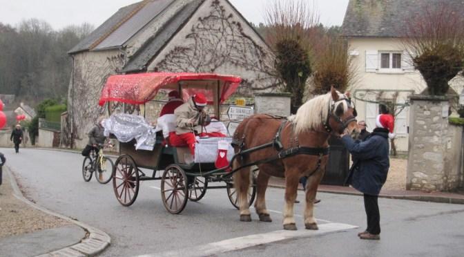 Le Père Noël est passé à Gilles le 13 décembre