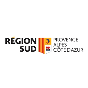 Logo Région Sud, partenaire de Val Buëch-Méouge