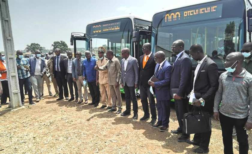 Modernisation du transport urbain à Bouaké
